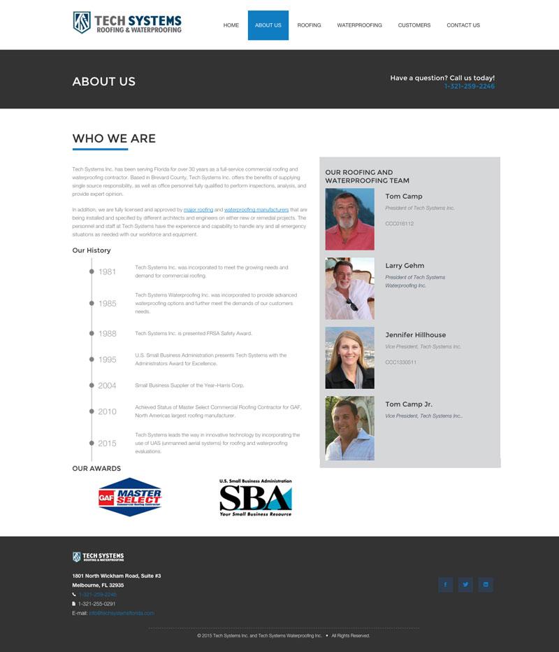 Linda Hanus Tech Systems Web Design